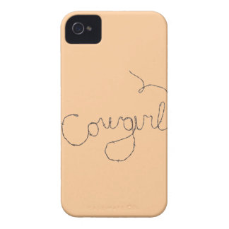Cowgirl Sign iPhone 4 Case-Mate Cases