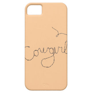 Cowgirl Sign iPhone 5 Cases