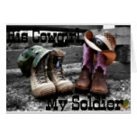 Cowgirl Soldier Greeting Cards