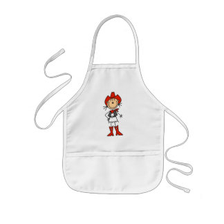 Cowgirl Stick Figure Aprons
