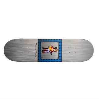 Cowgirl with Guitar Skate Deck