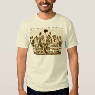 Cowgirls At The Round-Up T Shirt