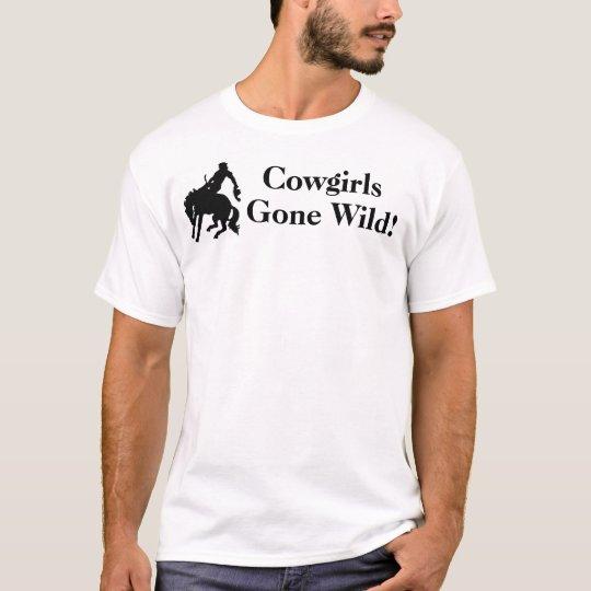 Cowgirls Gone Wild T-Shirt