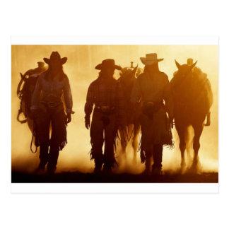 Cowgirls postcard