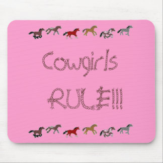 Cowgirls  RULE!!! Mouse Mat