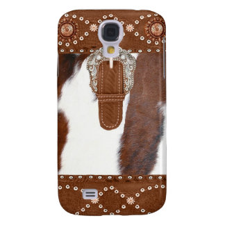 """""""Cowhide and Leather"""" Western IPhone 3  Case"""