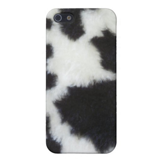Cowhide iPhone Case Cover For iPhone 5