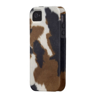 Cowhide Leather Print iPhone 4/4S Vibe Case Vibe iPhone 4 Cover