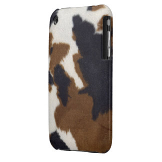 Cowhide Leather Print iPhone Case 3G/3GS iPhone 3 Case