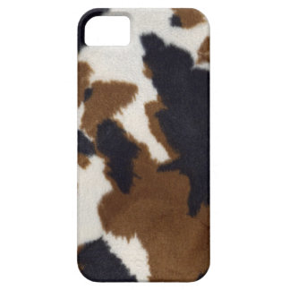 Cowhide Leather Print Pattern iPhone 5 iPhone 5 Case