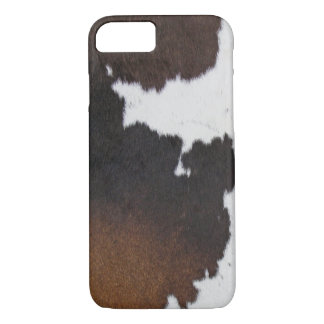 Cowhide Patch iPhone 7 Case