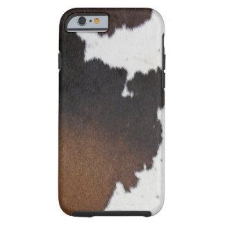 Cowhide Patch Tough iPhone 6 Case