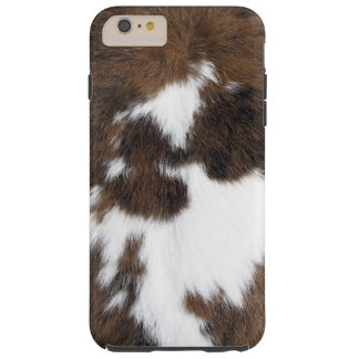 Cowhide Patch Tough iPhone 6 Plus Case