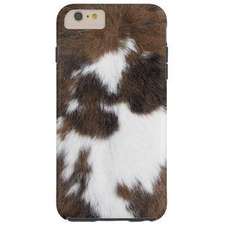 Cowhide Patch Tough iPhone 6 Plus Case