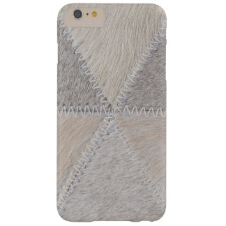 Cowhide Patchwork Barely There iPhone 6 Plus Case