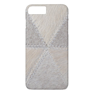 Cowhide Patchwork iPhone 7 Plus Case