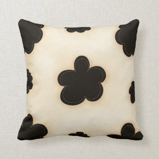 Cowhide Print Pattern MoJo Throw Pillow Throw Cushions