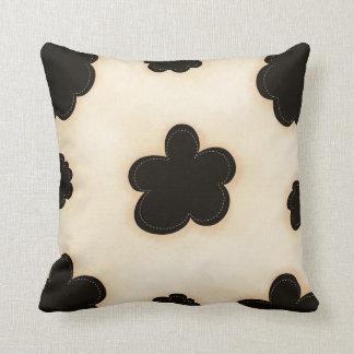 Cowhide Print Pattern MoJo Throw Pillow Throw Cushions