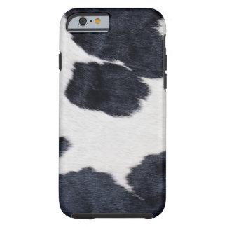 Cowhide Print Tough iPhone 6 Case