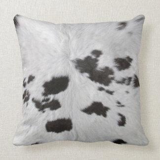 Cowhide Throw Cushion