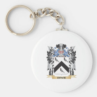 Cowie Coat of Arms - Family Crest Basic Round Button Key Ring
