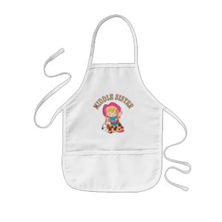 Cowkids Middle Sister Apron