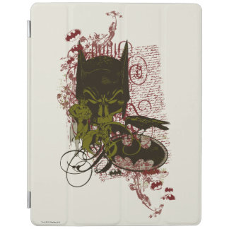 Cowl and Skull Manuscript Vintage Collage iPad Cover