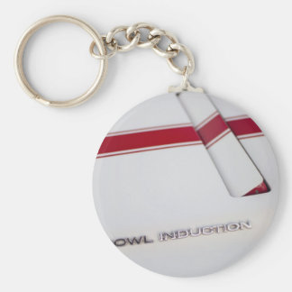 Cowl Induction by Chevrolet Basic Round Button Key Ring