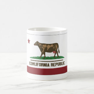 Cowlifornia Republic Classic White Coffee Mug