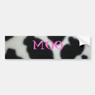 CowPattern MOO Bumper Stickers
