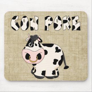 Cowpoke Country Fun Bull Mousepad