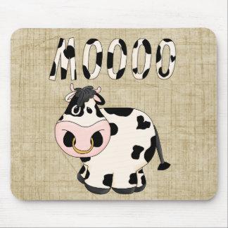 Cowpoke Country Fun Moooo Bull Mousepad