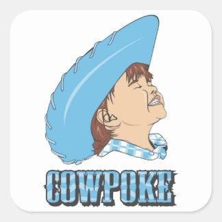 Cowpoke Stickers