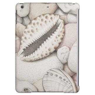 Cowrie & Abalone Shells & Pebbles iPad Air Case