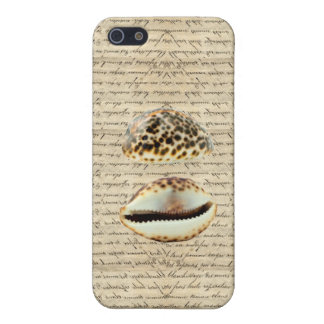 Cowrie shells iPhone 5 case