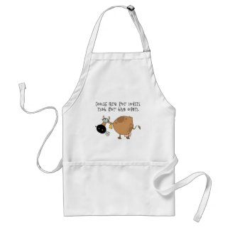 Cows Are For Lovin Adult Apron