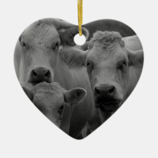 Cows Christmas Ornament