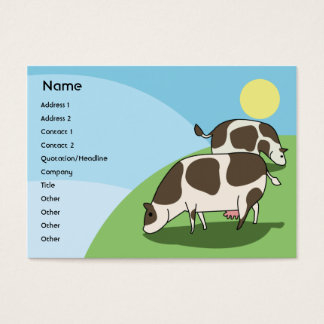 Cows - Chubby Business Card