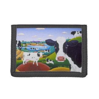 Cows, Cow, Cows Tri-fold Wallets