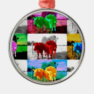Cows Christmas Tree Ornament