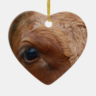 Cows Eye Christmas Ornament