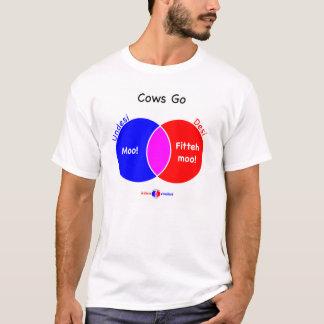 Cows Go T-Shirt
