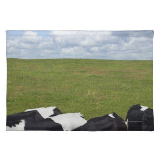 Cows in a pasture placemat
