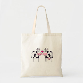 Cows in Love Budget Tote Bag