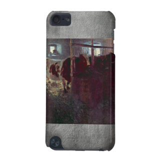 Cows in Stall by Gustav Klimt iPod Touch 5G Cover