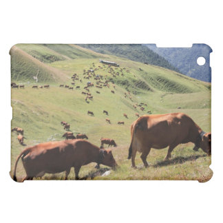 cows in Tarentaise Valley - Tarine race Cover For The iPad Mini