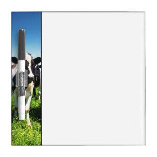 Cows in the field, Betsukai town, Hokkaido Dry Erase Board