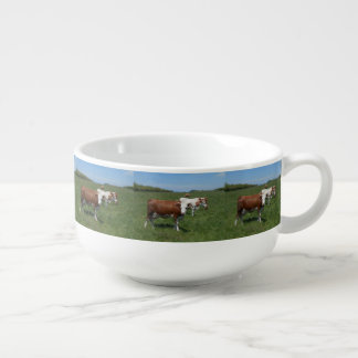 Cows In The Pasture Soup Mug