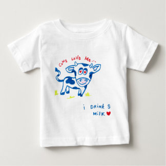 Cows love me... I drink soy milk Baby T-Shirt