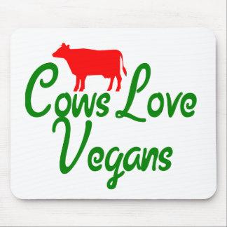 Cows Love Vegans Mouse Mat